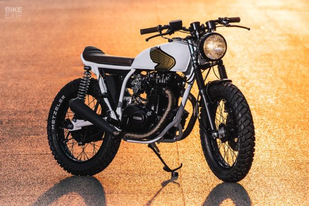 Custom Honda CB360 street tracker by Federal Moto