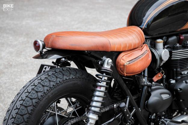 Custom Triumph Bonneville T120 bobber