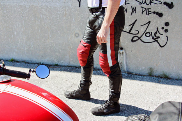 Design your own custom motorcycle pants
