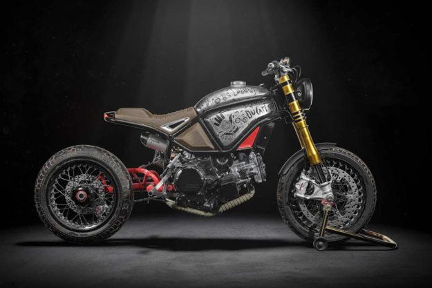 Ducati Panigale Scrambler concept by Alexey Afanasyev