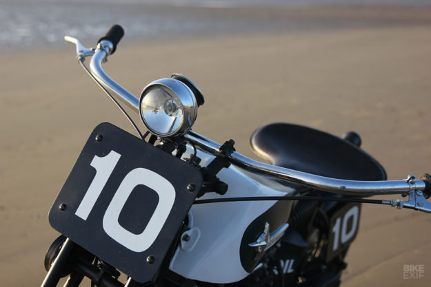 Period Incorrect: A Harley Sportster XLCH beach racer from Hoxton Moto