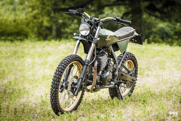 Dirt on the Cheap: A Low Budget, High Fun Honda Dominator 650 from North East Custom