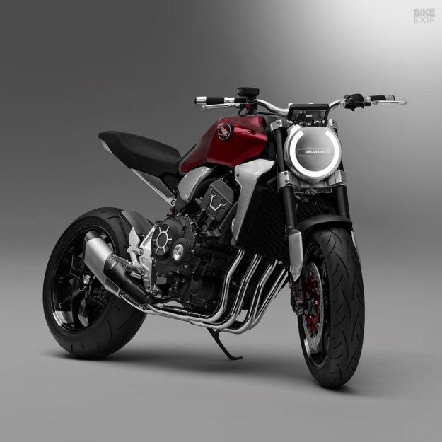 Honda Neo cafe racer concept