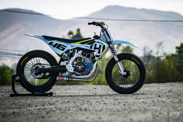 Hot Single: Suicide Machine Co  x Husqvarna FC 450 | Bike EXIF
