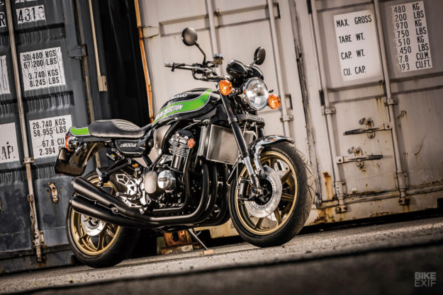 Custom Kawasaki Z900RS by Doremi Collection