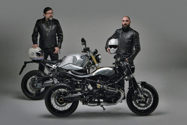 Custom BMW R nineT by Lowride magazine