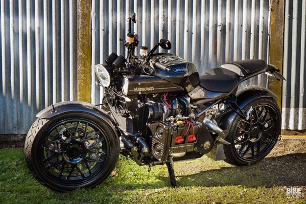 Madboxer: A motorcycle with a Subaru WRX car engine | Bike EXIF