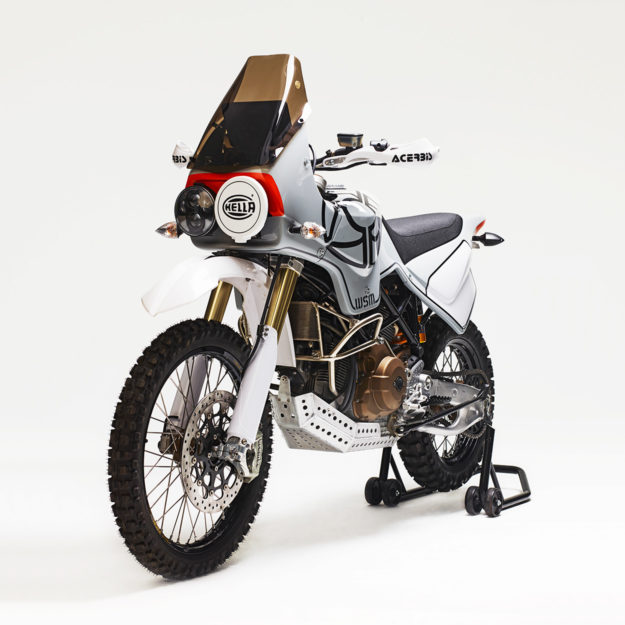 Walt Siegl's Ducati ADV, 'L'Avventura.'