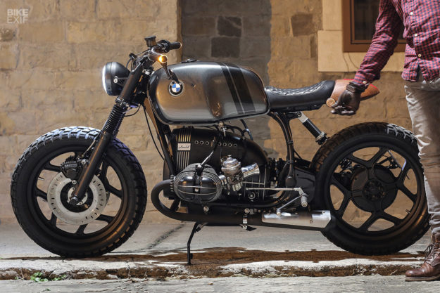 A BMW R80RT cafe racer from Slovenia