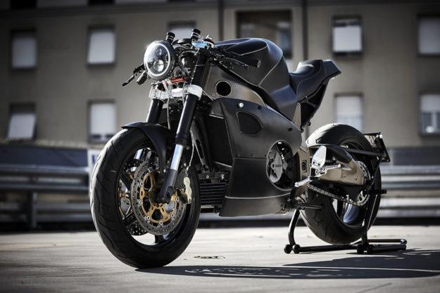 Custom Aprilia Tuono by Ireful Motorcycles