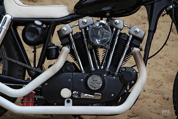 Custom Harley Ironhead Sportster by Pancake Customs