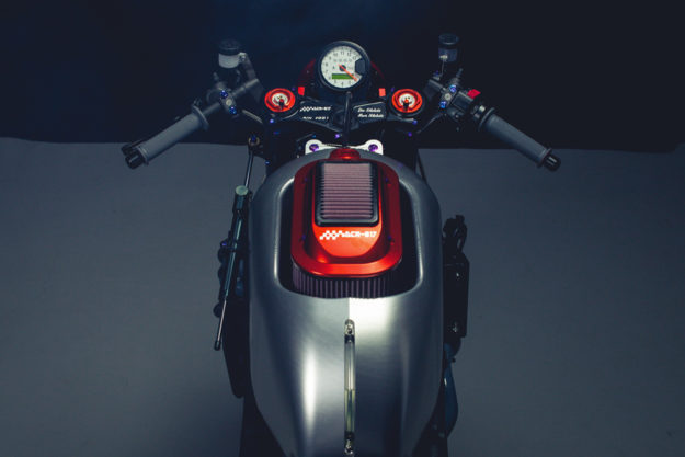 KTM RC8 cafe racer by DNA Filters