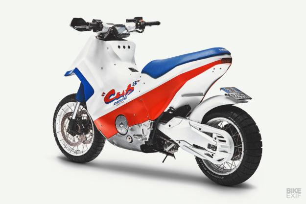 Deus turns the Honda X-ADV into a Cub EZ 90 homage
