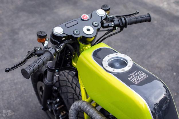 Fat Tracker: custom Moto Guzzi V9 by Untitled Motorcycles