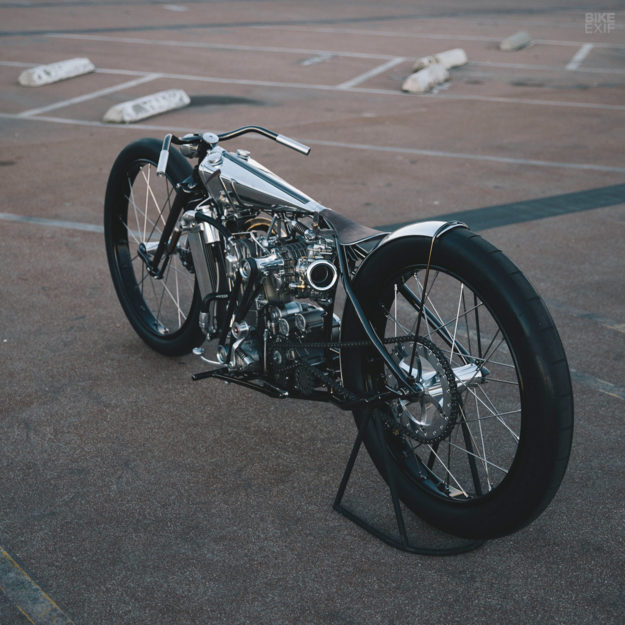 Supercharged KTM custom motorcycle by Hazan Motorworks