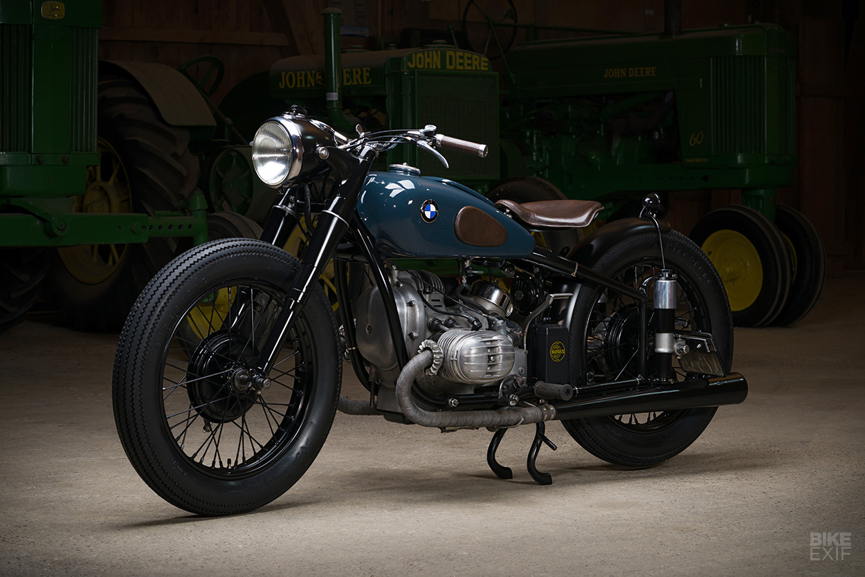 Old Timer This Swiss Bmw Restomod Is Just Perfekt Bike Exif