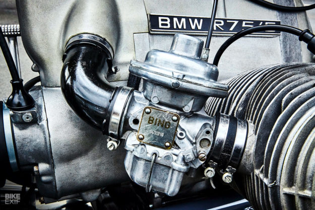 BMW R75/5 bobber by Kingston Custom