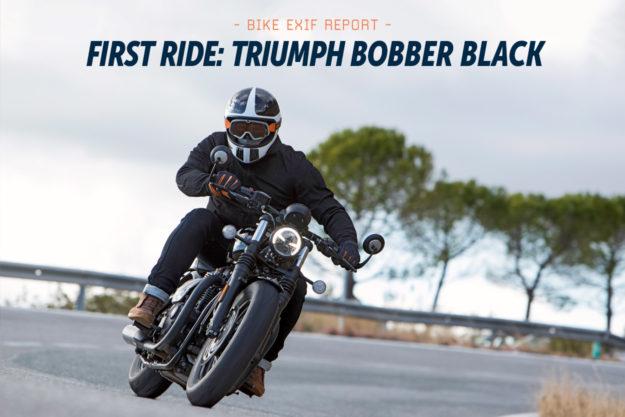 Review: The 2018 Triumph Bonneville Bobber Black