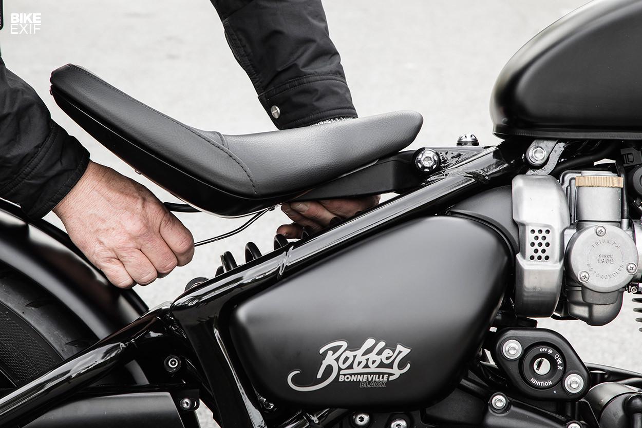 Review: The 2018 Triumph Bonneville Bobber Black | Bike EXIF