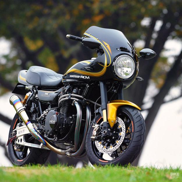Custom Kawasaki Z1 by AC Sanctuary