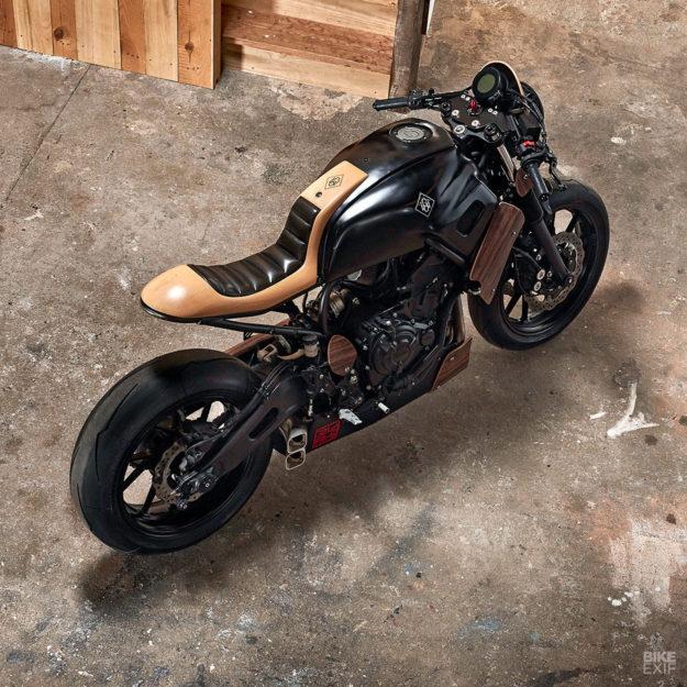Yamaha XSR700 Yard Built by George Woodman