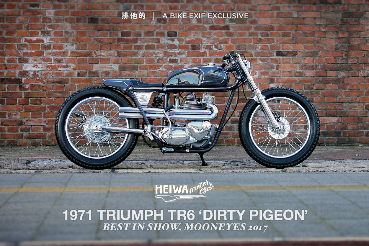 Heiwa's Mooneyes Show Winning Triumph TR6