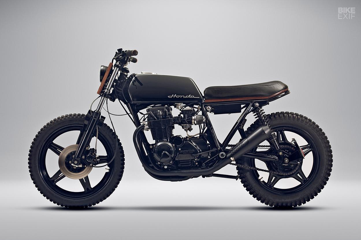Custom Honda CB650 by Black Lanes