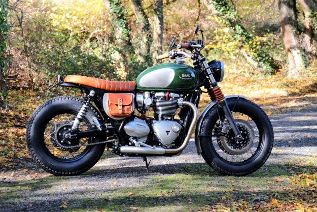 Triumph Bonneville T120 by Baak Motocyclettes