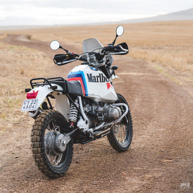 Revisiting the Paris Dakar: A BMW R80G/S restomod