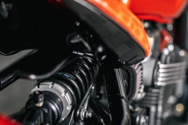 Custom Triumph Bonneville Bobber by Modification Motorcycles