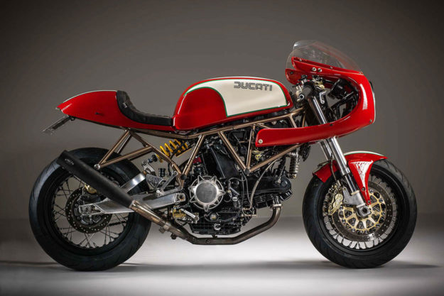 Ducati SuperSport 1000DS by Barn Built Bikes