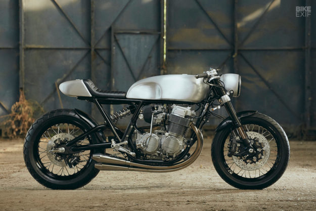 Honda Cb Cafe Racer >> This Cb750 Took Three Years To Build And It S Perfect Bike Exif