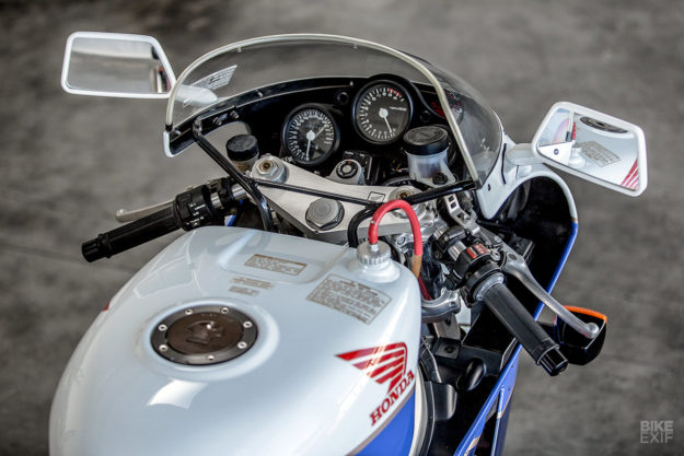 Original Honda RC30 for sale at Bonhams