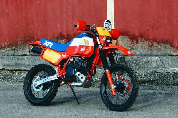 Honda XL600R by Andrew Greenland