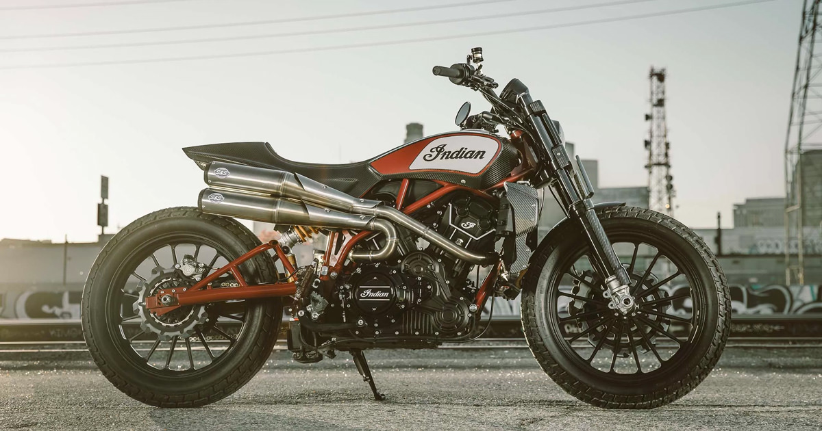 Indian Scout On Bike Exif