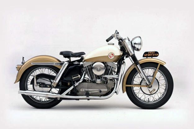 1957 Harley Sportster replica by UFO Garage