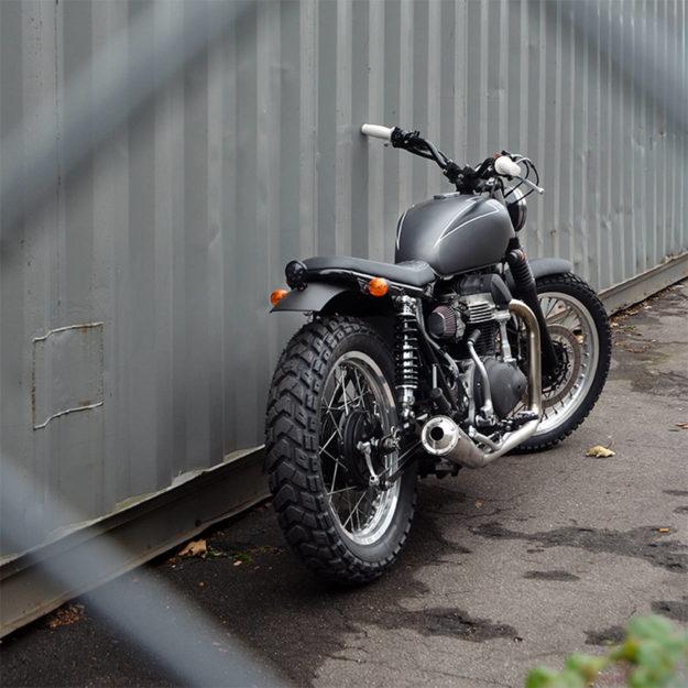 Custom Kawasaki W650 by the Wrenchmonkees