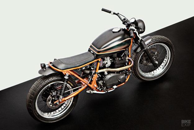 Custom Kawasaki Z750B by the Wrenchmonkees