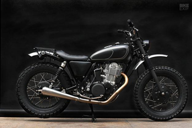 Custom Yamaha SR400 by the Wrenchmonkees