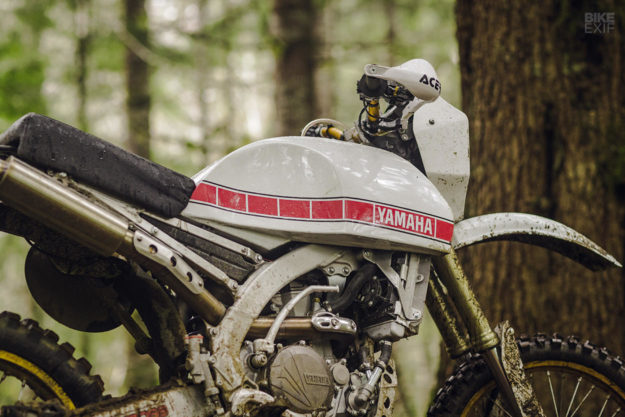 Dakar Redux: A 2017 Yamaha WR450F given the retro treatment by Iron Cobras
