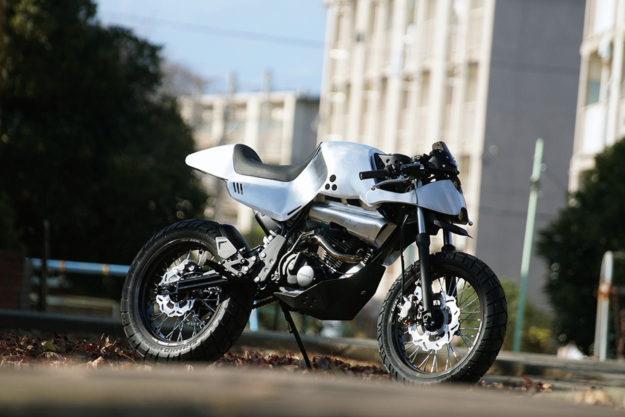 Custom Honda TLR200 Reflex by Ask Motorcycle
