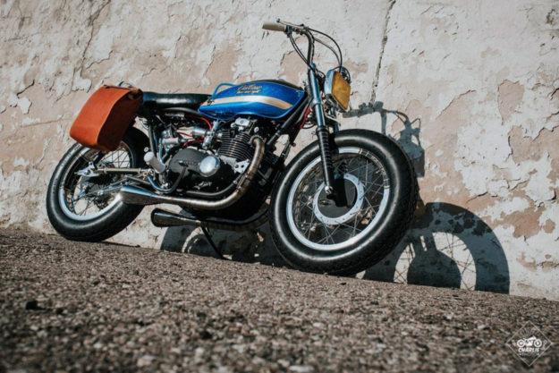 Custom Kawasaki Z400 by Unique Cycle Work