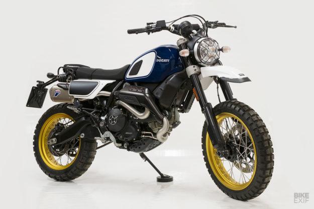 Outsider: Unit Garage makes an off-road kit for the Ducati Scrambler Desert Sled
