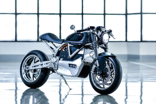 Project D-EV: an electric Ducati scrambler
