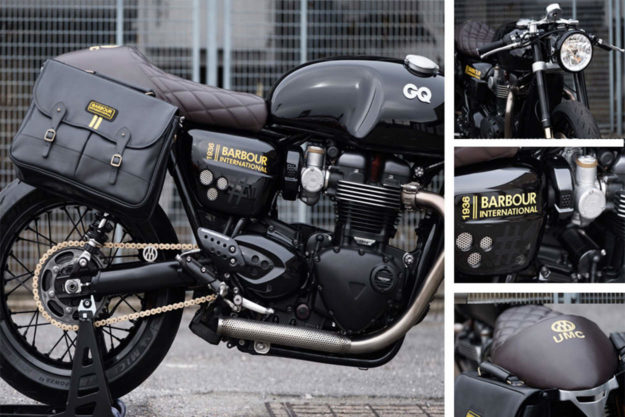 GQ Barbour Triumph Thruxton R by Untitled Motorcycles
