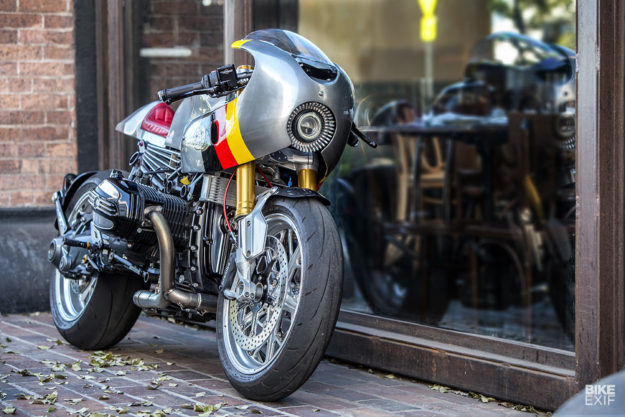 Cafe racer BMW R nineT by JSK Moto