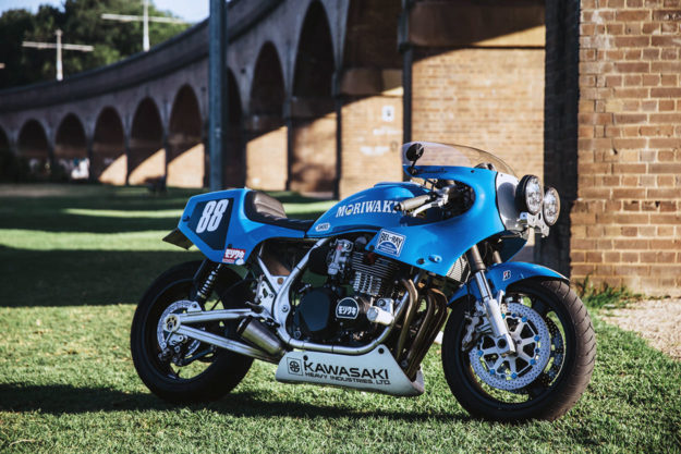 Custom Kawasaki Zephyr by DNA and RB Racing