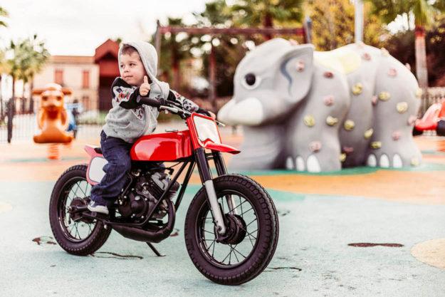 Moto Guzzi kids mini bike by Kacerwagen