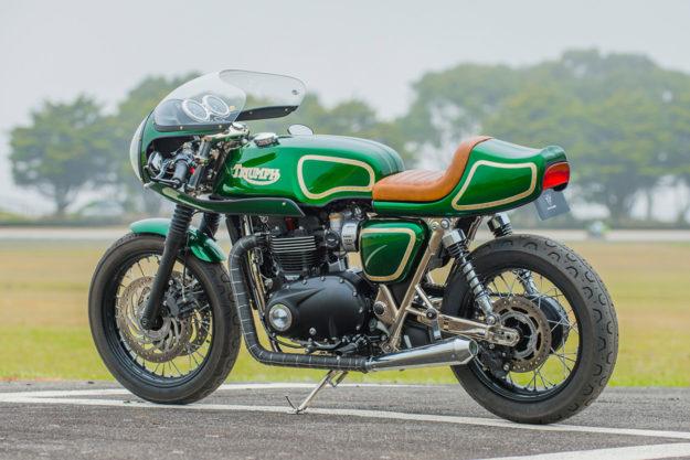 Triumph Cafe Racer >> The Mongrel A Rickman Triumph T120 Cafe Racer Bike Exif