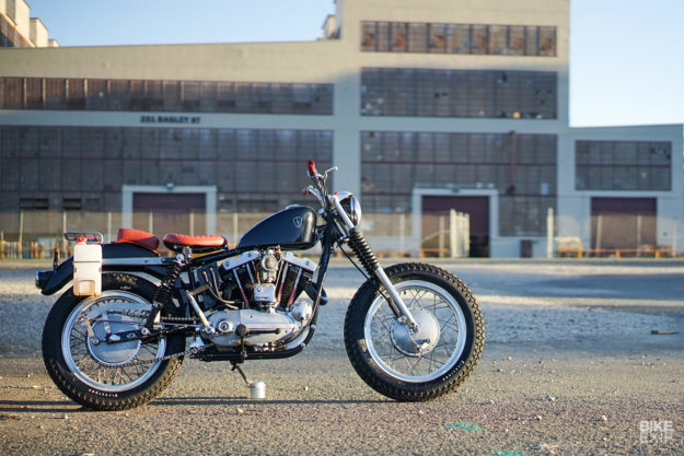 Heart Of Glass: Jared Smith's sweet 1966 XLCH Sportster